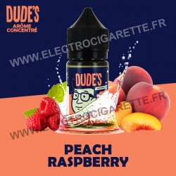 Peach Raspberry - Dude's - Concentré - 30 ml