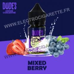 Mixed Berry - Dude's - Concentré - 30 ml