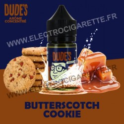 Butterscotch Cookies - Dude's - Concentré - 30 ml