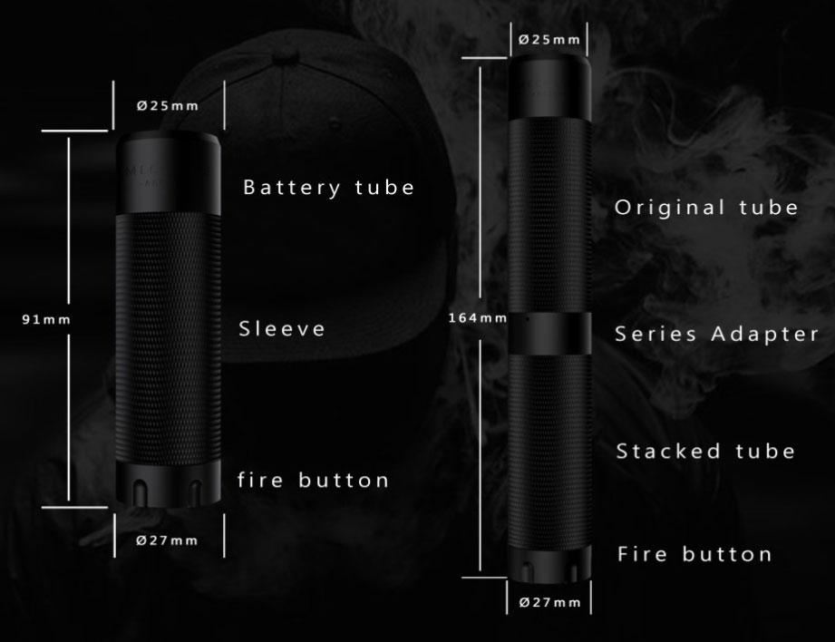 Kit Arcless Slatra Competition Mech avec atomiseur Slatra RDA - Information