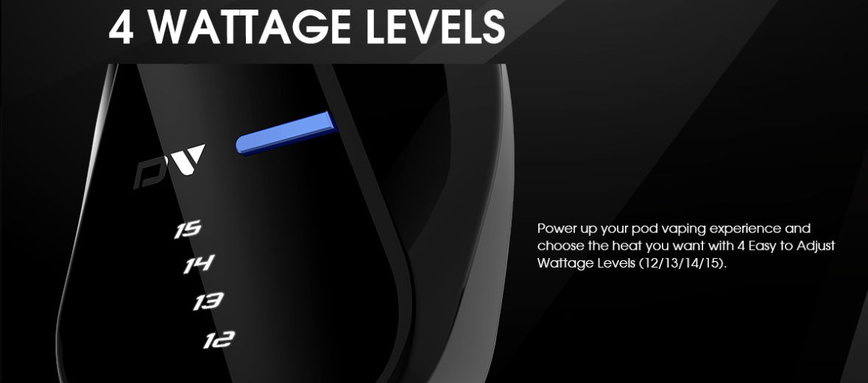 Kit DV Pod - 4 niveaux de puissance