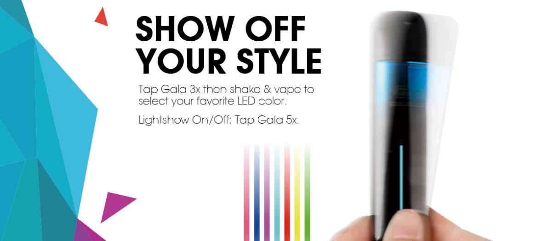 Kit Gala Pod 500mah - Innokin - Secoué pour changer de couleur