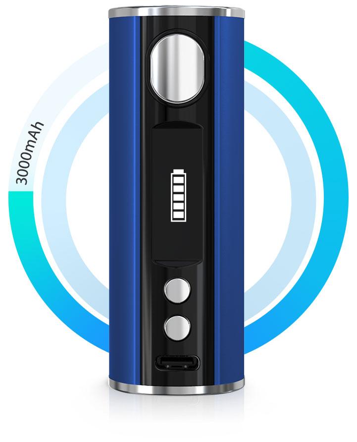 Kit iStick T80 3000mah avec clearo Melo 4 D25 4.5ml - Eleaf - Autonomie 3000 mAh