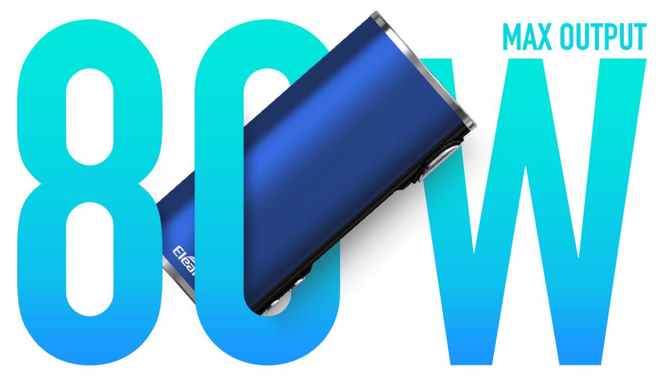 Kit iStick T80 3000mah avec clearo Melo 4 D25 4.5ml - Eleaf - Puissance 80W
