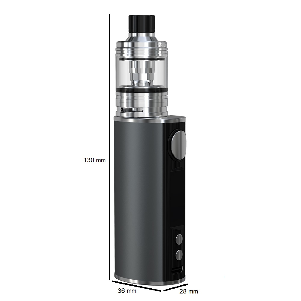 Kit iStick T80 3000mah avec clearo Melo 4 D25 4.5ml - Eleaf - Taille