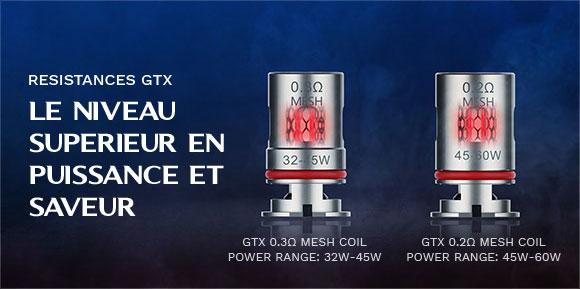 Kit Target PM80 2000mAh 4ml - Vaporesso - Résistances GX