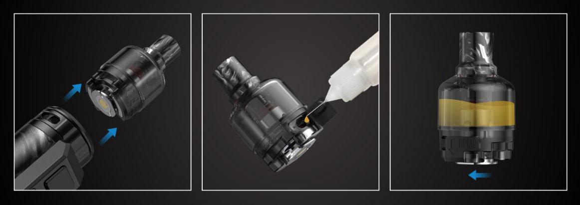 Kit Thallo S - Remplissage du Pod 5ml
