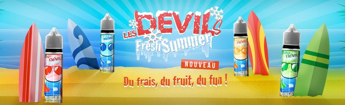 Devil's Fresh Summer, du frais, du fruit, du fun !