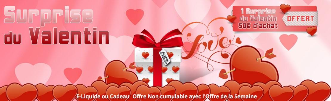 Voulez-vous être notre Valentin ? Soyez le Valentin d'Electro Cigarette...