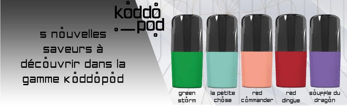 5 nouvelles saveurs à découvrir chez Koddopod