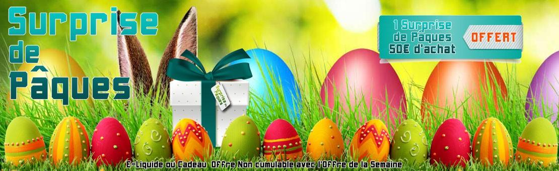 Parcourez notre site à la recherche de la surprise de Pâques...