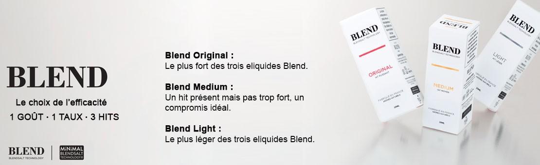 La recharge e-liquide Blend Trio de The Fuu, vous ne savez pas quoi choisir, alors essayer les trois dans un pack. Ce pack se compose du Blend Light, Blend Medium et Blend Original.