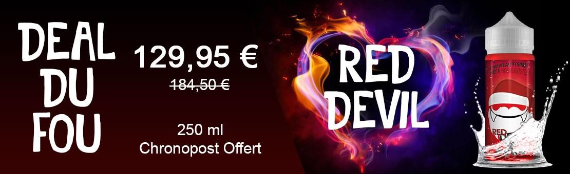 Deal du fou - Red Devil - 250 ml - Chronopost Offert