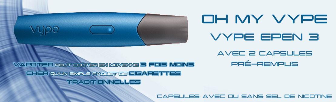 Vype ePen 3, la dernière génération de cigarette électronique
