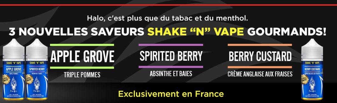 Nouvelles saveurs Halo - Exclusivement en France