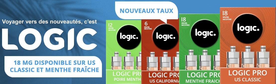 Logic Pro - Nouveaux taux en 18 mg